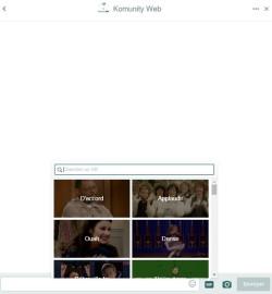 Intégrer un GIF dans direct message